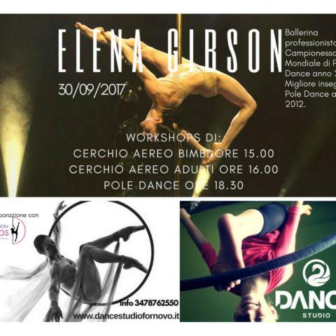 Workshop di Pole Dance e Cerchio Aereo